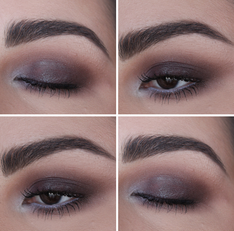 warm red brown blue duo chrome makeup look smokey eye duochrome rimmel colourpop cosmetics bae eyeshadow dupes bare minerals the vision makeup look tutorial kat von d lolita
