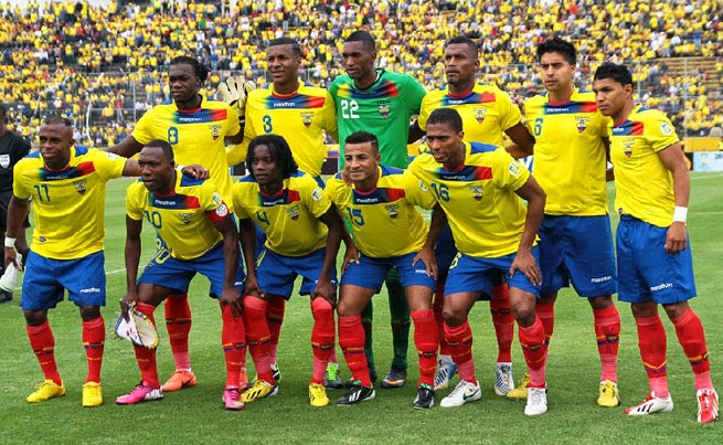 Watch Ecuador live online. World Cup Brazil 2014 games free streaming. Best websites for football matches without signing up