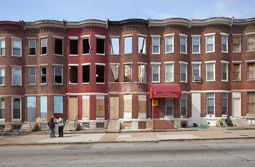 Row Houses In Baltimore Md : Kirk tanter the row houses of baltimore maryland usa