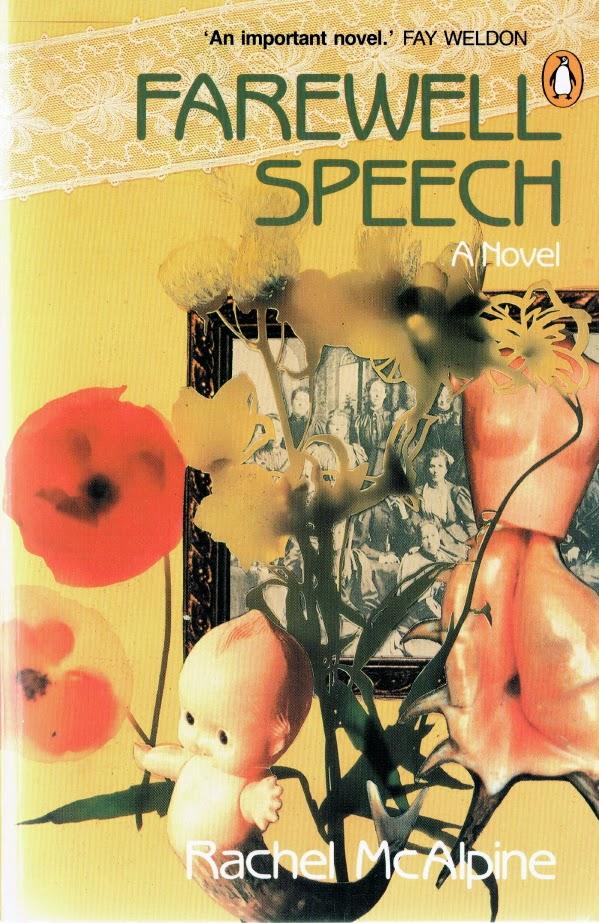 Farewell Speech by Rachel McAlpine: cover art by Dale Copeland