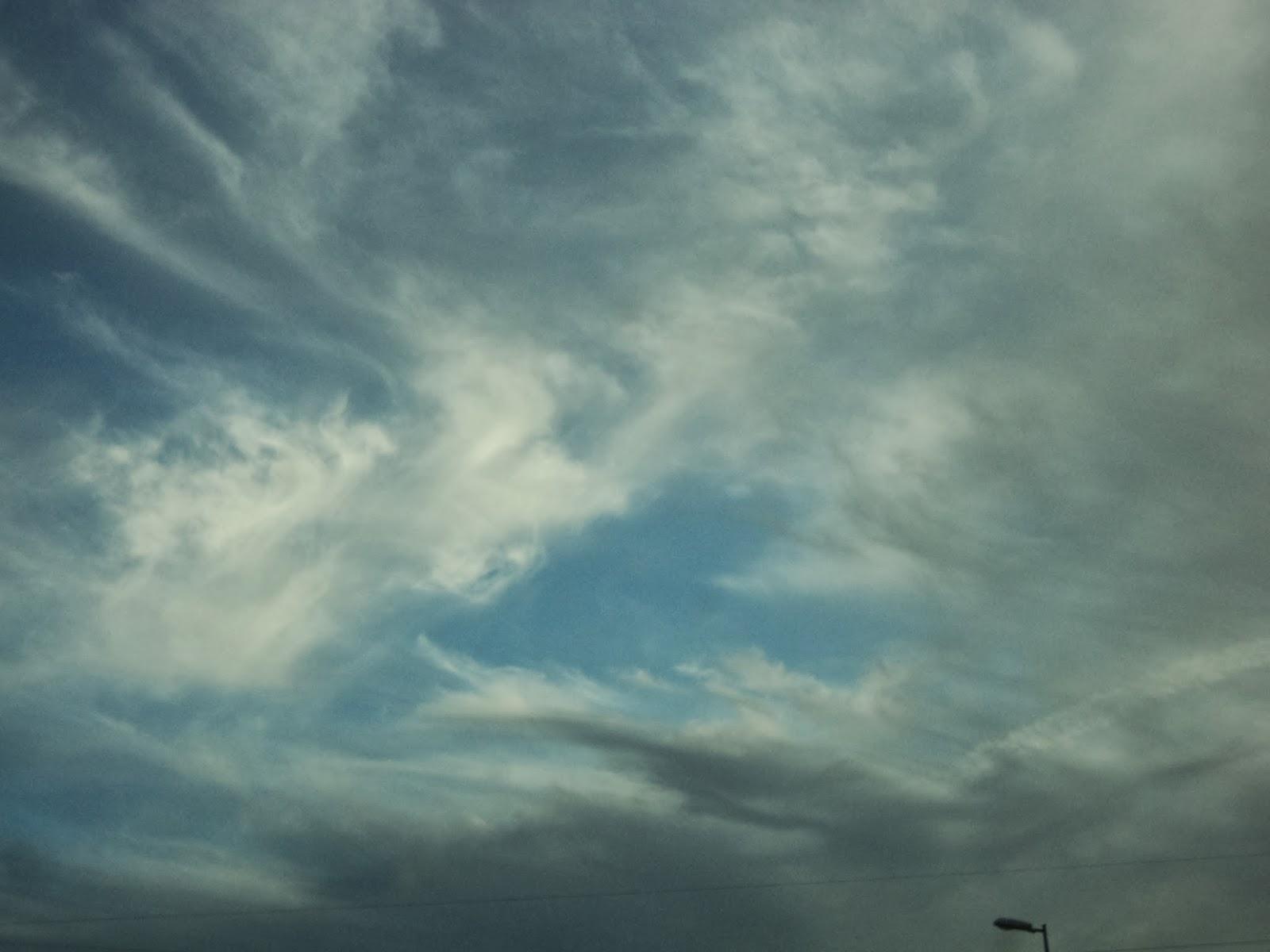 рисунок в небе