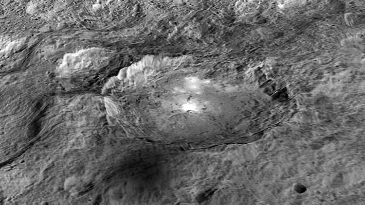 Los puntos brillantes en Ceres no son de hielo