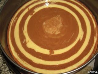 Bizcocho de Nutella