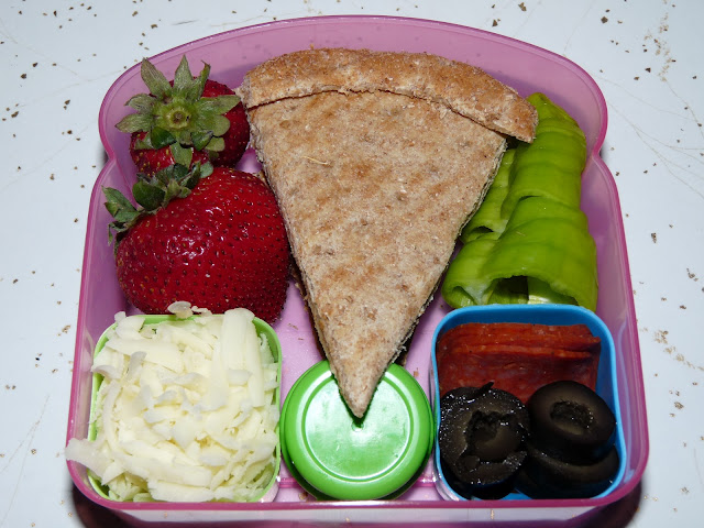 pizza bento lunch