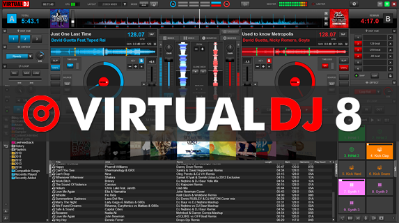 VIRTUALDJ 8 & VIRTUALDJ 7 Free Download Latest Version
