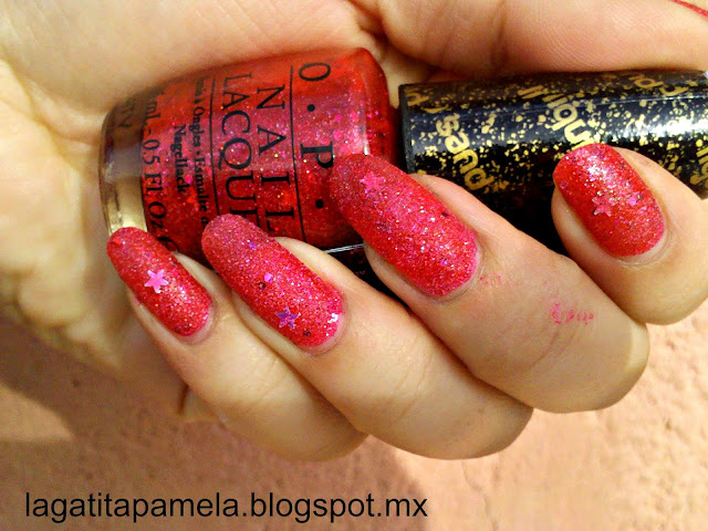 the impossible OPI liquid sand