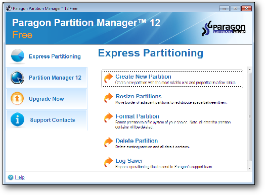 Download Paragon Partition Manager Free