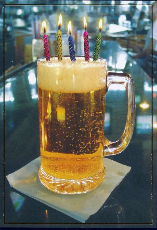Happy birthday craft beer cake - photo#27