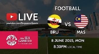 Keputusan Terkini Bolasepak Malaysia Vs Brunei 8-6-2015