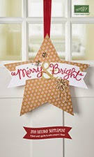 Holiday supplement to Stampin' Up holiday catalog