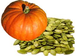 Pumpkin seeds contain the ultimate sex mineral...zinc!