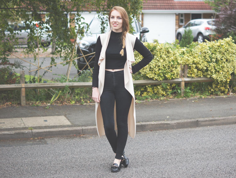 missguided sleeveless coats