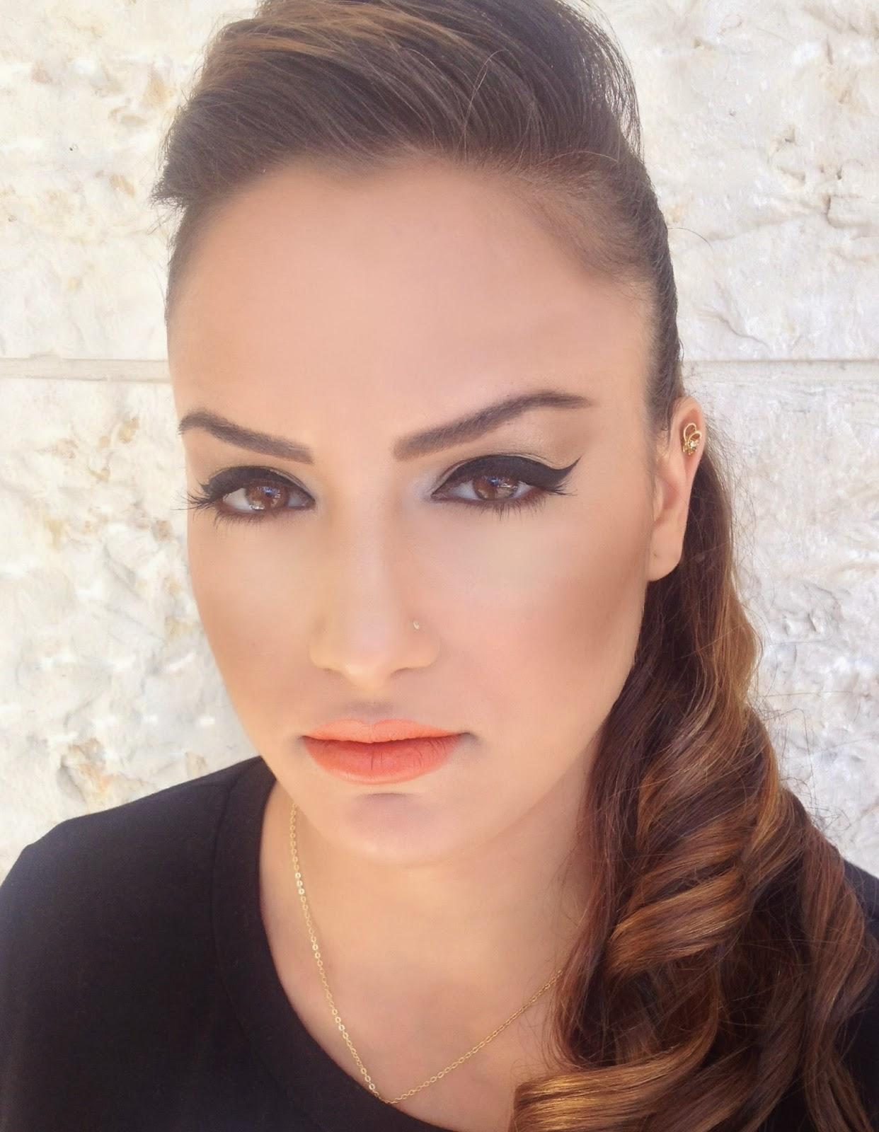 ענבל איתן מאפרת איילנר הצללות הברקות קונטור inbal eitan makeup mua artist highlight contour
