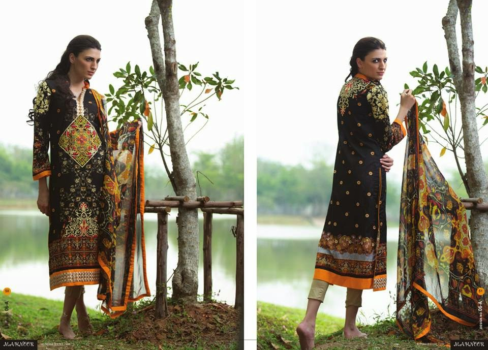 New digital print lawn collection