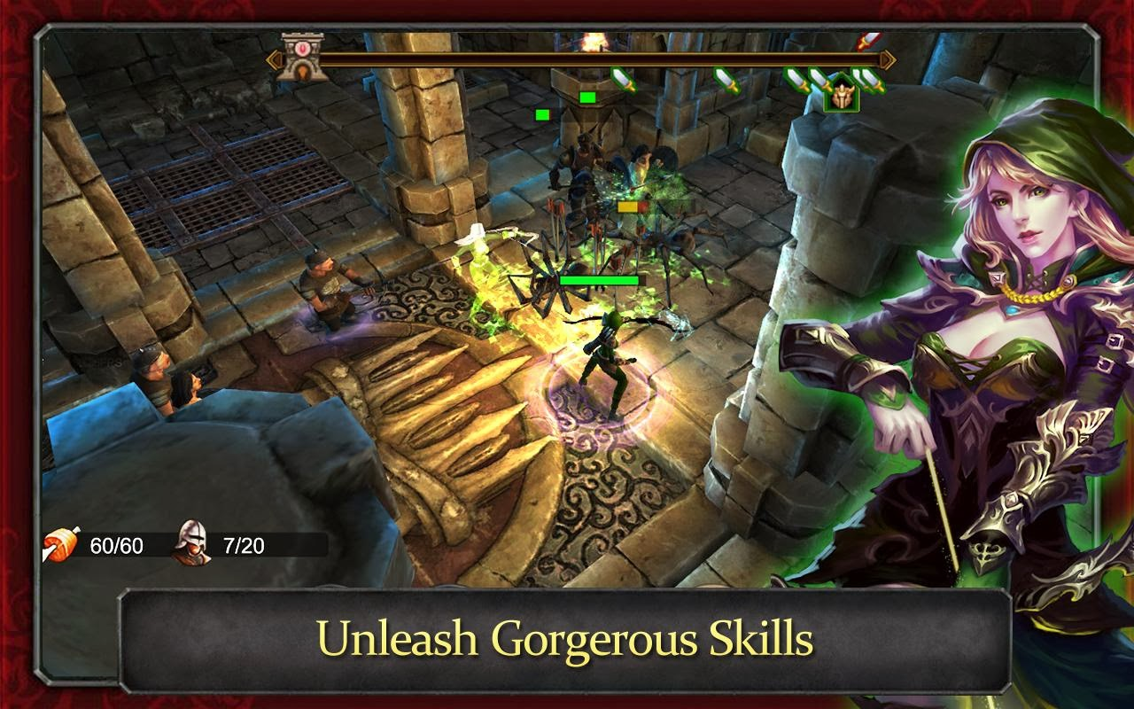 Demonrock  War Of Ages MOD APK DATA V1 0  1 0   Mod Unlimited Money