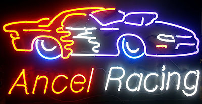 Custom Racing Car Neon Sign