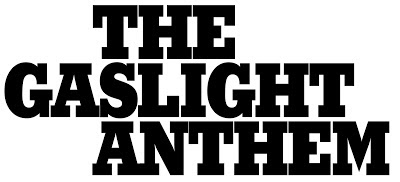 Gaslight Anthem Logo 2012