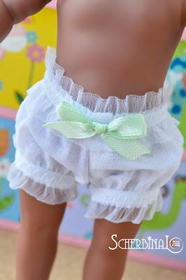 трусики для куклы