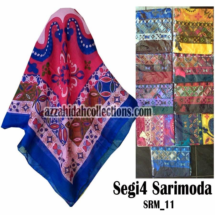 Segi Empat Sarimoda – www.azzahidahcollections.com