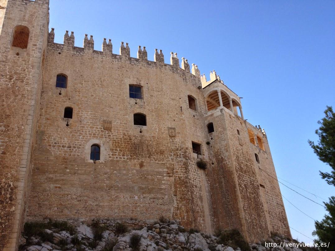 Parte trasera castillo Vélez Blanco