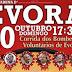 Corrida dos Bombeiros Voluntários de Évora dia 20 de Outubro na Arena d'Évora.