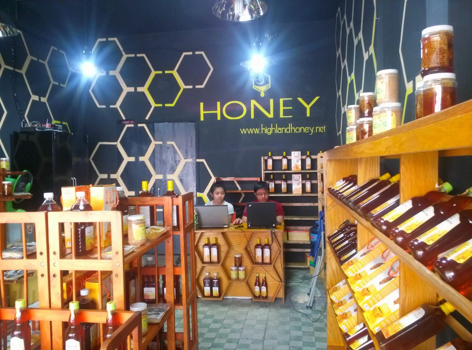 mua mật ong nguyên chất ở Huế
