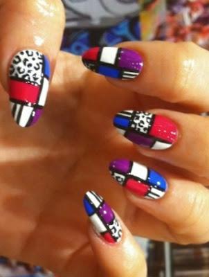 dibujos abstractos para uñas