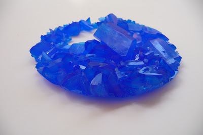 Blog de cristalización: Sulfato de cobre por enfriamiento
