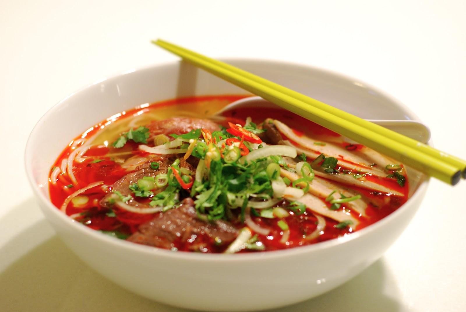 Vietnamese Hue Style Beef Noodle Soup [Bún Bò Huế] | HaonoaH