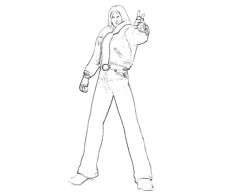 printable-king-of-fighters-terry-bogard-call-coloring-pages