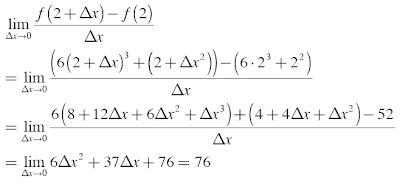 kecepatan sesaat benda pada x = 2 detik