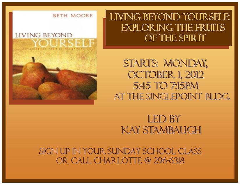 Beth Moore's Living Beyond Yourself on Vimeo
