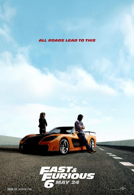 Sung Kang Gal Gadot Fast and Furious 6 Poster
