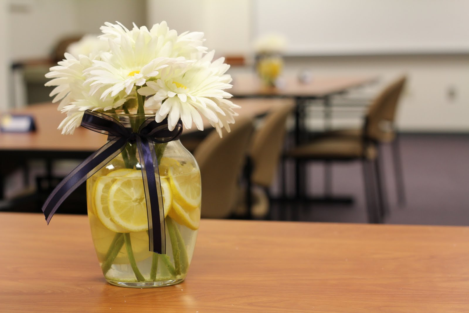 Cup of Delight: Graduation Banquet Centerpiece {Festive Delights