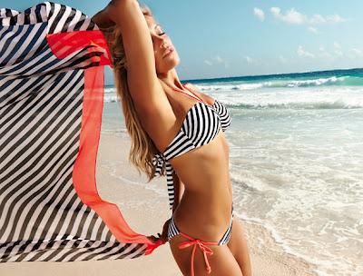 Sylvie in nieuwe Hunkemoller bikini