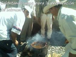 Durante la preparación de jitomates en salmuera