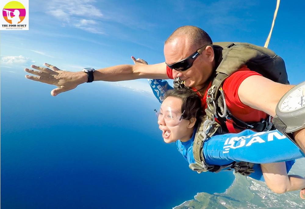 My Bucket List - Skydive Guam