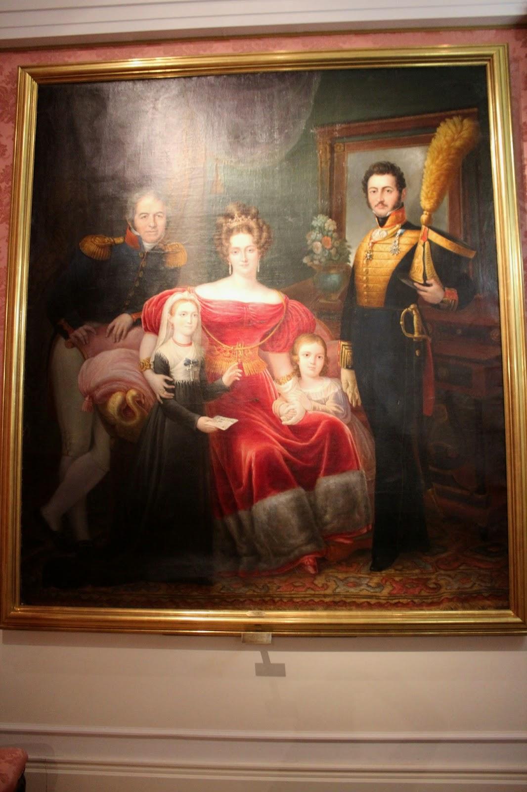 Cuadros del Museo del Romanticismo