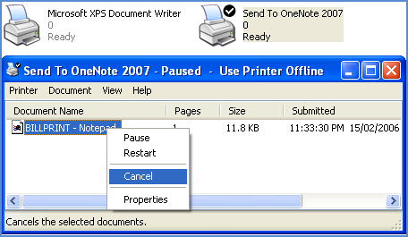 How to Cancel or Clear Stucked Printer Jobs in Windows