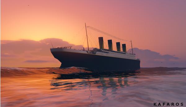 MOD Kapal Titanic