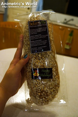 Hand-made oatmeal bread from Bakersville Boulangerie &amp; Patisserie