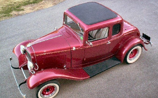 Car Fanatics Able to Drive the 1932 Ford 5-Window Coupe
