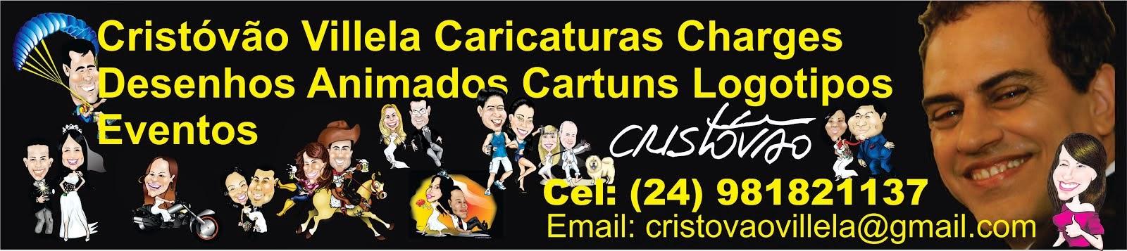 Caricaturas Cristóvão Villela