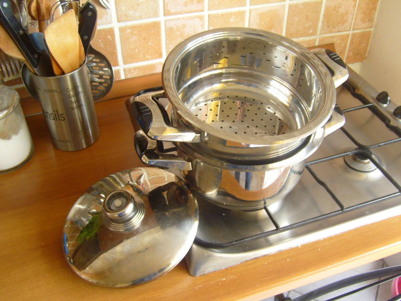 Desde este lado de mi mundo tip frugal cocinando al vapor for Cocinar almejas al vapor