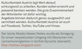 Zitat KulturKontaktAustria Magazin Winter 2011/2012
