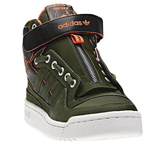 separation shoes b6212 d6813 THE SNEAKER ADDICT Star Wars x adidas Originals Forum Mid Han Solo Sneaker