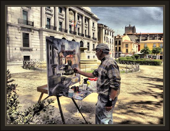 Ernest descals artista pintor avila viajes pintura arte - Trabajos de pintor en madrid ...