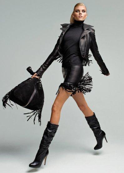 fashion leather on leather fashion isabeli