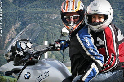 Mamma e Papà in moto BMW GS 2013 rebeccatrex