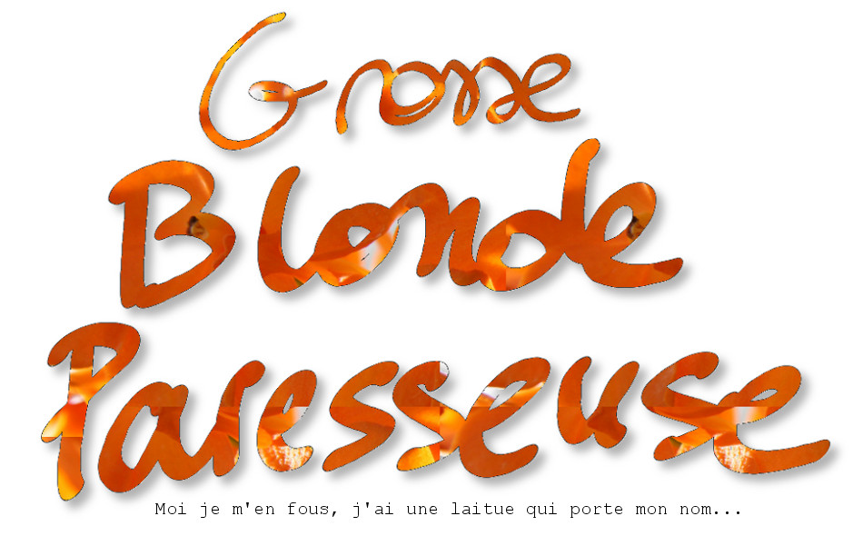 Blonde Paresseuse